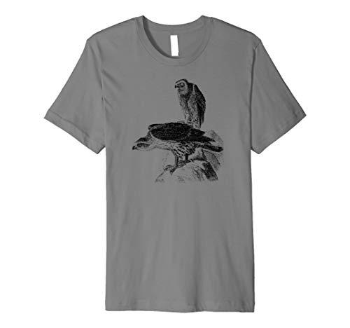 Mintage Hawk Eagles Fine Jersey T-Shirt ()
