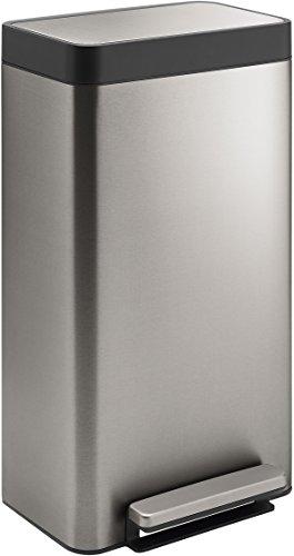 (Kohler 20941-ST 8-Gallon Loft Stainless Step Trash Can, Stainless Steel)