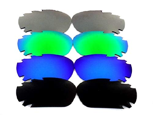 Galaxy Replacement Lenses For Oakley Jawbone Black/Blue/Green/Grey Polarized ()