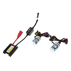 GDW 12V 35W H11 HID Xenon Lamp Conversion Kit Set (Super Slim Ballast) , 12000K