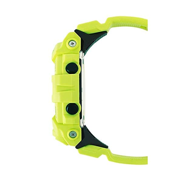G-Shock By Casio Men's Analog-Digital GBA800-9A Bluetooth Watch Lime Green 4