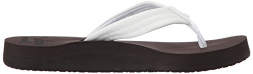 Brown White Flip Reef Flop Women R1454B 4wqOpPI