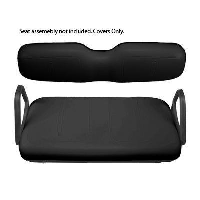 EZGO-Black-Front-Seat-Cover-Package