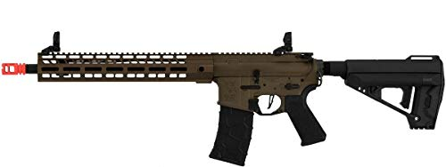 Airsoft Rifle VFC Avalon Saber Carbine with Patch and Speedloader Tan