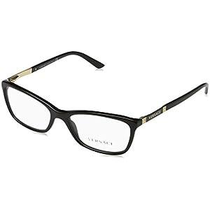 Versace VE3186 Eyeglass Frames GB1-52 - Black