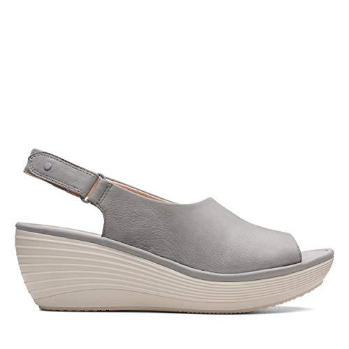 Clarks Mujer Marca Cordones Reedly Grey Shaina Clarks De grey Gris Nubuck Modelo Mujer Zapatos Para Gris Color 0qTBtw