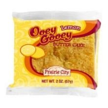 Prairie City Bakery Ooey Gooey Lemon Butter Cake, 2 Ounce - 60 per case.