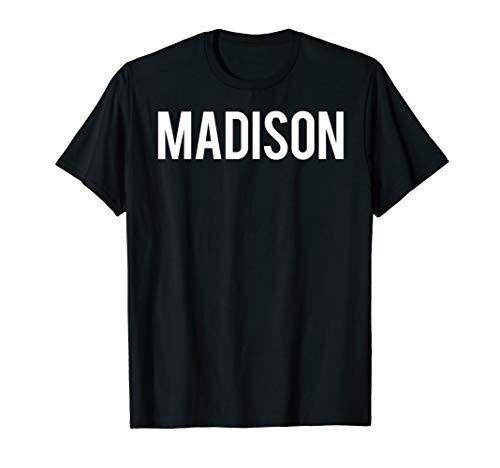Madison T Shirt Cool Wi State city fan funny cheap gift tee