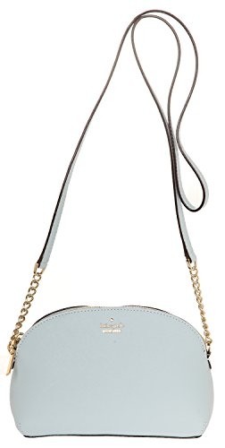 Kate Spade New York Womens Cameron Street Hilli Cross Body Bag  Shimmer Blue  One Size