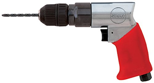 (Sioux Tools 5440KL - Air Drill or Driver - Not Reversible, Pistol Grip Handle, Chuck Size 10 mm, 3/8 in, 2300 rpm Maximum)