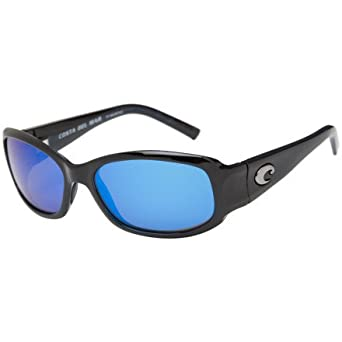 605402a5325f6 Image Unavailable. Image not available for. Color  Costa Del Mar Vela Black Blue  Sunglasses 400G