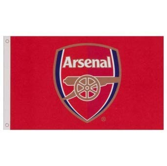 Arsenal FC Flag CC - Approx. 3' x 5' Large Team Crest (Arsenal Flag)