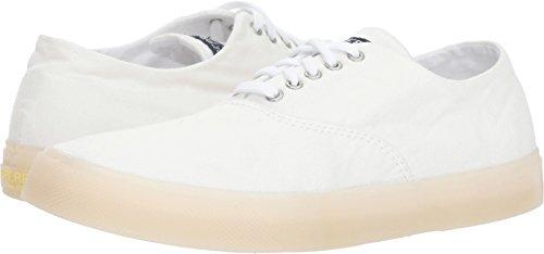Sperry Women's Captains CVO Drink Sneaker, White, M 075 Medium US