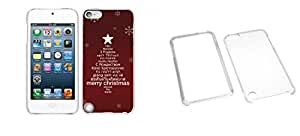 Combo pack Cellet White Proguard Case with Xmas 03 For Apple iPod Touch 5th Generation And MYBAT T-Clear Phone Protector Cover for APPLE iPod touch (5th generation)
