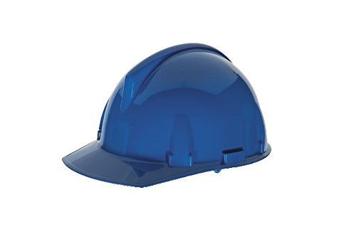 Topgard Protective Caps (MSA Safety 475380 Topgard Slotted Protective Cap with Fas-Trac Suspension, Standard, Blue)