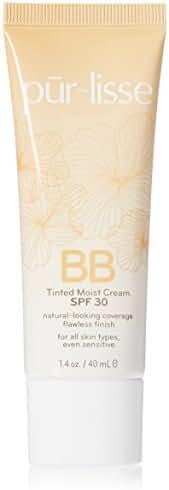 Purlisse Bb Tinted Moist Cream Spf 30, Medium, 1.4 Ounce