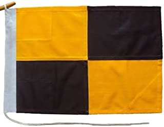 product image for Signal Code Flag Size 2 Nylon L With Ash Toggles