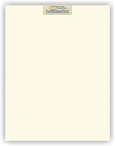 15 Earthy Cottonwood Fiber Cover Paper Sheets - 11