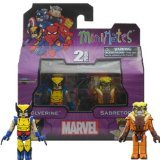 MiniMates: Marvel Best of Series 1 Wolverine and Sabertooth Mini Figure 2-pack