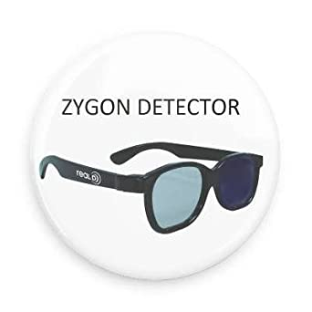 Dr Who Zygon Detector Dr. Who Series Pin-back Button or Magnet (1.5
