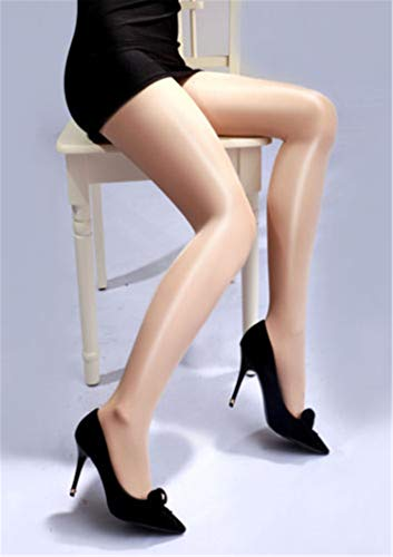 Women High Waist Oil Shine Glossy Shape Body Pantyhose Stockings Tights HOT