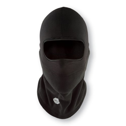 Chaos Hats Adrenaline Dri Realese Wool Linerguard Balaclava (Black, Small/Medium)