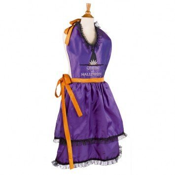 Grasslands Road Queen of Halloween Apron ()