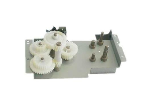 HP RM1-1729-000CN Fuser roller drive assembly - Includes both motors (M5, M6) by HP