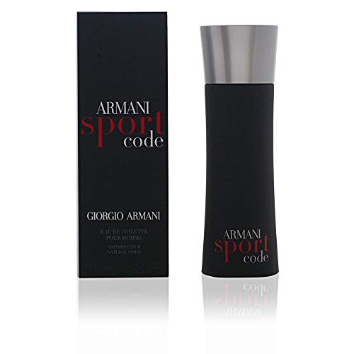 Giorgio Armani Code Sport for Men Eau De Toilette Spray, 2.5 Ounce (Armani Code For Men Best Price)