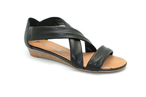 Sandalia de mujer - Maria Jaen modelo 503N Negro