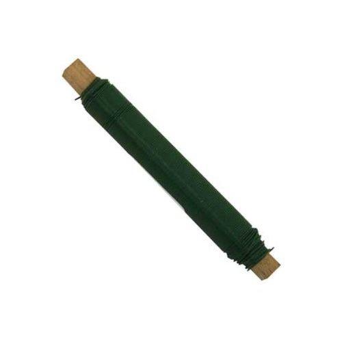 Blumendraht Bindedraht Wickeldraht Basteldraht Ø0,65mm grün