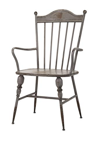 Imax 89633 Chatham Metal Arm Chair, - Room Chatham Living Chair