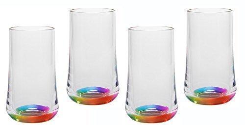 Merritt International Rainbow Reflections - 14oz Tumbler 4 Pack -