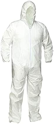 Microporous Disposable Coverall with Hood