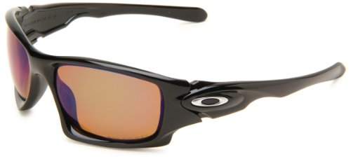 a3aa55dec0 Oakley Mens Ten OO9128-10 Polarized Rectangle Sunglasses