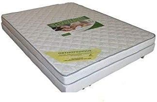 france-matelas Conjunto colchón Eco 90 x 190 15 cm + somier ...