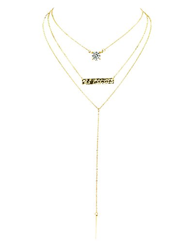 Boosic Multi Necklace Pendant Choker
