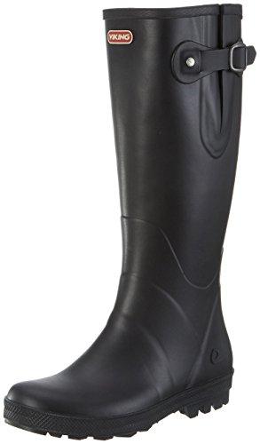 Viking Womens Foxy Wellington Boots Black (Black)