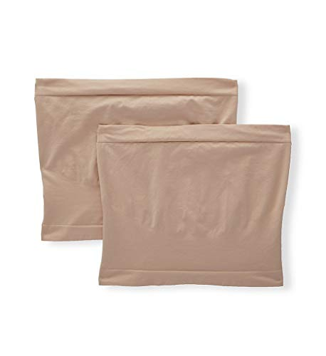 (Playtex Cool Comfort Maternity Belly Band - 2 Pack (PLMTBB) L/XL/Nude/Nude)