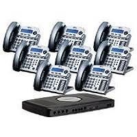 NEW XBlue Networks X16 8 - bundle TM X16 6-lines&8-telephone-Bundle-Titanium Metallic Modern Design