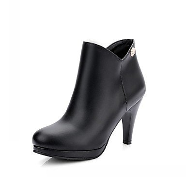Evening amp;Amp; Casual EU35 Boots UK3 RTRY Spring Fall Career Dress Party Wedding Winter Office US5 amp;Amp; Leather CN34 Leatherette Women'S Novelty Patent Comfort Platform T11wHOnq5