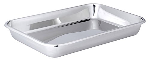 Hammer Stahl 12'' x 18'' Bake Pan, Stainless Steel by Hammer Stahl