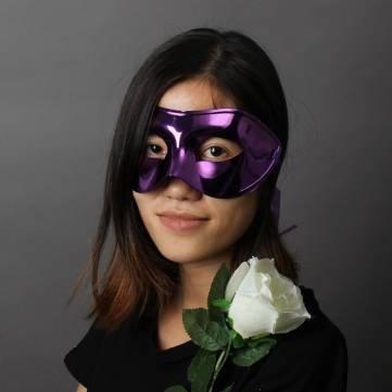 Mask - Mask & Costumes - Masquerade Mask Gilded Masks Hallow
