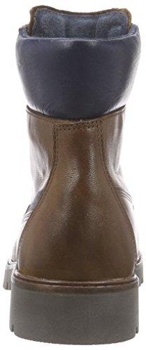 camel active Outback 73 - botas de cuero mujer marrón - Braun (bison/denim)