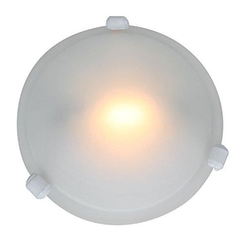 Nimbus - Flush Mount - White Finish - Frosted Glass Shade (Flush Mount Nimbus Access Lighting)