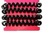 LIZHONG-SLT Rubber headgear hair rope leather ring line Tousheng rubber band small fresh hair,black