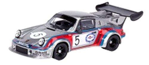 Schuco 450890000 - Porsche 911 Carrera RSR Turbo 2.1, inicie el número 5, Martini Racing, Resina, MaßÅžstab 01:43, plata: Amazon.es: Juguetes y juegos