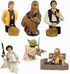 Star Wars Bust Ups Series 1 Complete Figure 6pc Set