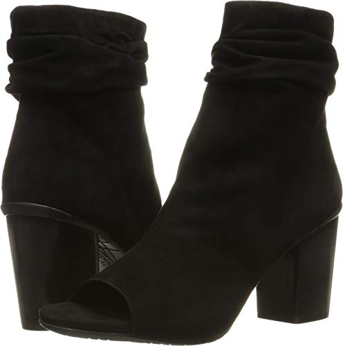 Kenneth Suede Sandals Cole (Kenneth Cole REACTION Women's Fridah Cool Black Suede 9.5 M US)