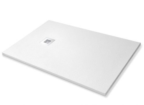 3 opinioni per Piatto doccia in pietra SolidStone alto 2,8 cm- Bianco (70x90)